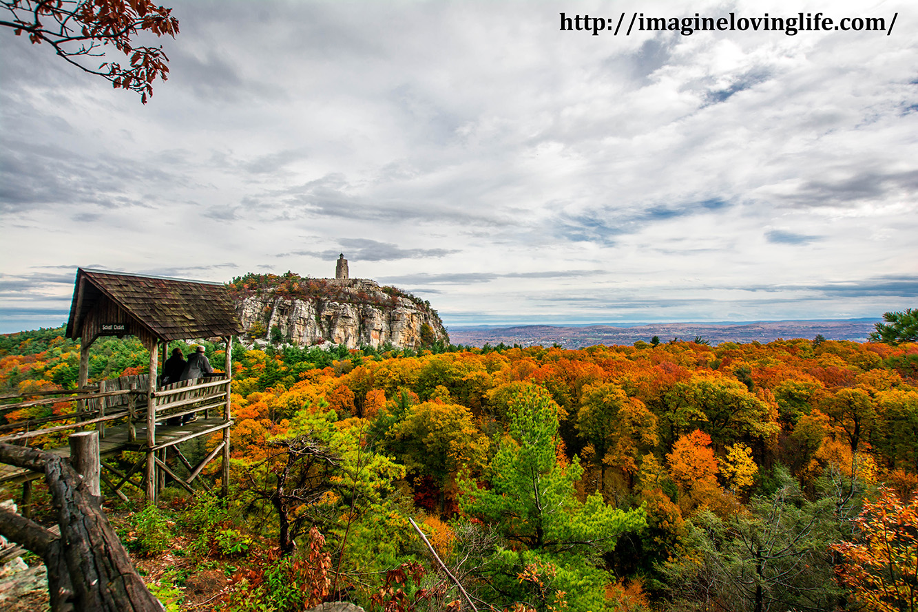 Mohonk Eagle Cliff Path View