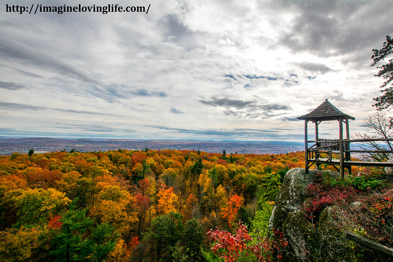 Mohonk Eagle Cliff Path Views