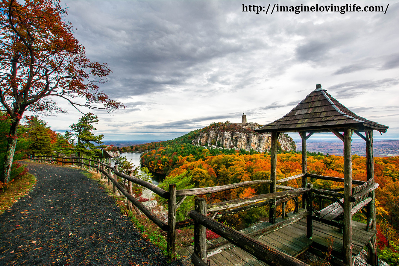 Mohonk eagle cliff road to mohonk mountain house