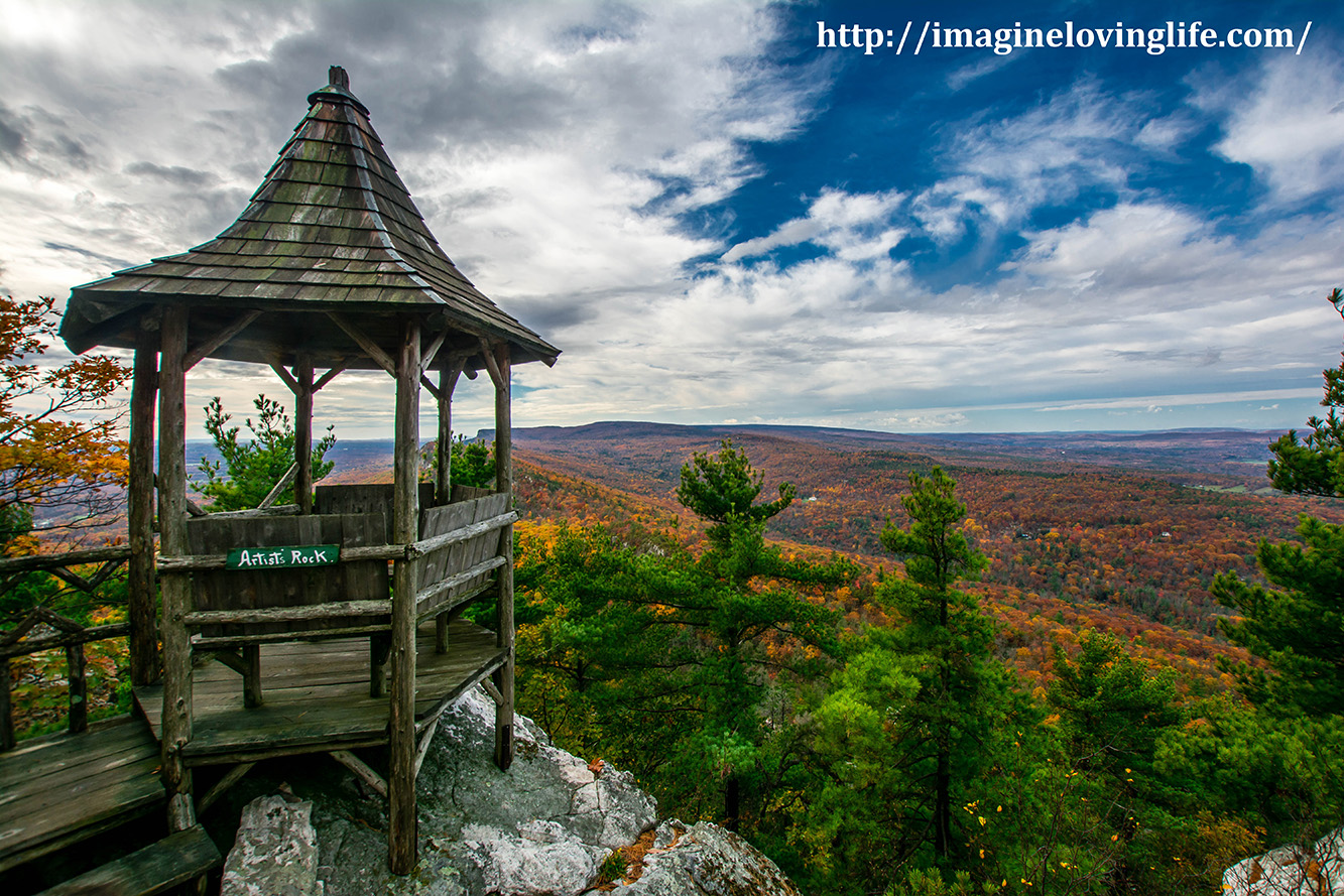 Mohonk Eagle Cliff View Artist
