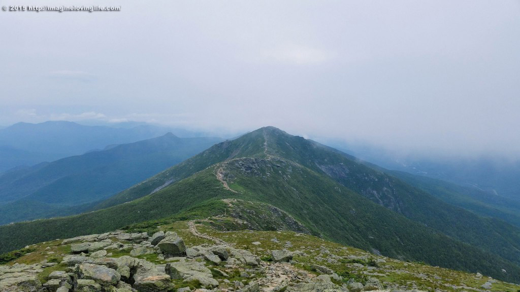 franconia ridge clouds beyond