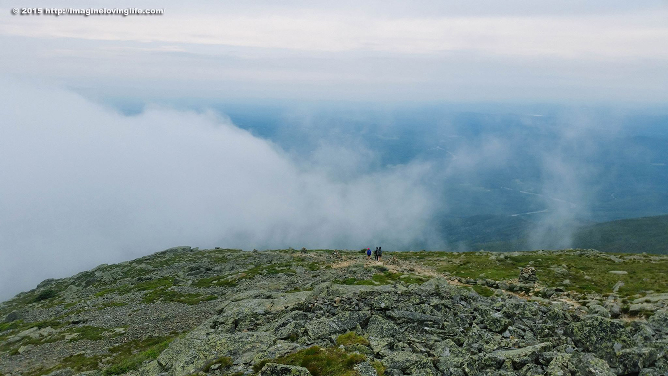 mount lafayette walking to the clouds
