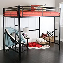 top full size loft beds