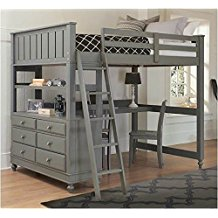 top bunk bed full size