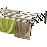 wall mounted clothes drying racks