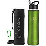 best insulated stainless steel water bottles