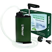 camping water filter reviews